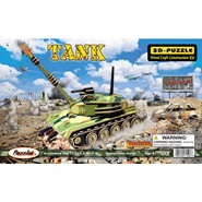 3D Illuminated Tank Puzzle