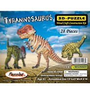 3D Tyrannosaurus Puzzle