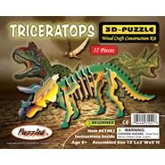 3D Triceratops Puzzle