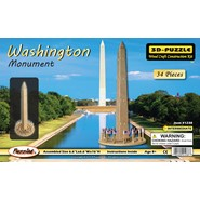 3D Washington Monument Puzzle