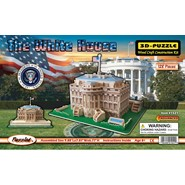 3D White House Puzzle