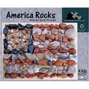 America Rocks Stones Puzzle