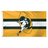 Green Bay Packers Retro 3x5ft Flag