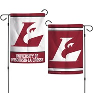 "UW-La Crosse 2-Sided 12.5""x18"" Garden Flag"