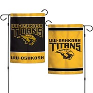 "UW-Oshkosh 2-Sided 12.5""x18"" Garden Flag"