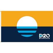 Milwaukee People's DNC 2020 3x5ft Flag