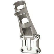 1in Mirror Finished Stainless Steel Fixed Position Cast Bracket