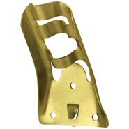 3/4in Gold Fixed Position Stamped Bracket