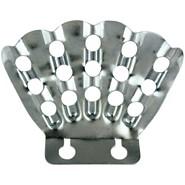 5 Finger Stamped Aluminum Bracket