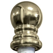 Gold Ball for Spinning Flagpole