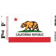 California Decal 3.5x5in