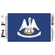 Louisiana Decal 3.5x5in