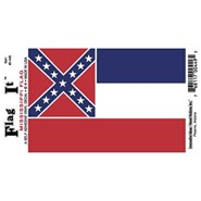 Mississippi Decal 3.5x5in