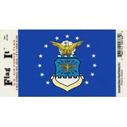Air Force Flag Decal 3.5x5in