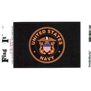 Navy Decal 3.5x5in