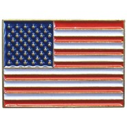 U.S. Flag Rectangle Pin