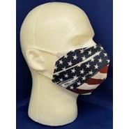 Patriotic Face Mask Left