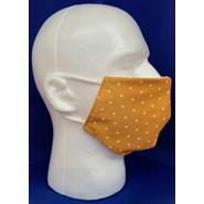 Rust Polk A Dots Face Mask 1