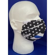 Thin Blue Line U.S. Face Mask 1
