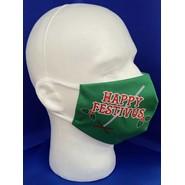 Happy Festivus Face Mask