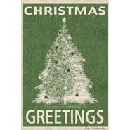 Christmas Greetings 28x40in House Flag