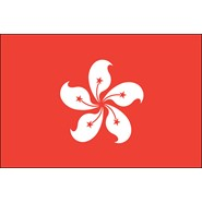 Hong Kong Nylon Flag