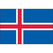 Iceland (UN) Nylon Flags