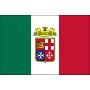 Italian Ensign Nylon Flag