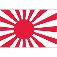 Japanese Ensign Nylon Flag