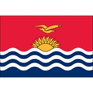 Kiribati Nylon Flag