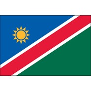 Namibia Nylon Flag