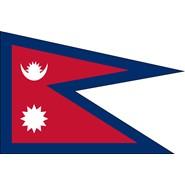 Nepal Nylon Flag