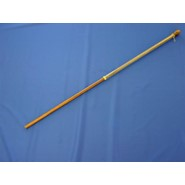 Mahogany Banner Pole 5ftx1in