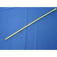 Wood Flagpole 5ftx1in