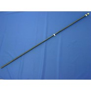 Black Fiberglass Flagpole 6ftx3/4in