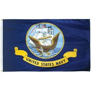 Navy Polyester Flag