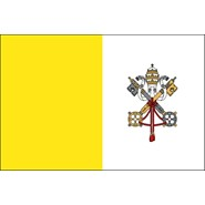Papal Nylon Flag