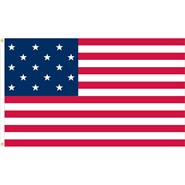 U.S. 15 Star Historical Flag