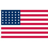 U.S. 30 Star Historical Flag