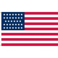 U.S. 34 Star Historical Flag
