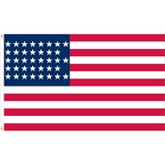 U.S. 38 Star Historical Flag