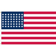U.S. 48 Star Historical Flag