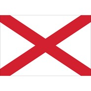 Alabama State Nylon Flag
