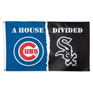 Chicago House Divided 3x5ft Flag