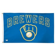 Milwaukee Brewers (Retro) Blue 3x5ft Flag