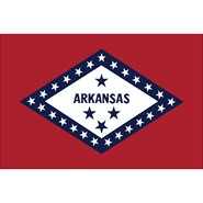 Arkansas State Nylon Flag