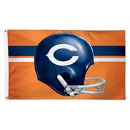 Chicago Bears (Old Helmet) 3x5ft Flag