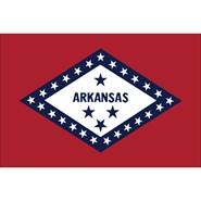 Arkansas State Polyester Flag