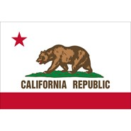 California State Nylon Flag