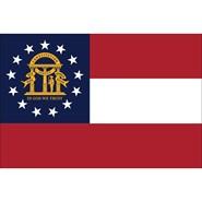 Georgia State Polyester Flag